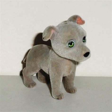 pocket puppies toys puppy in my pocket herman greyhound flocked meg used