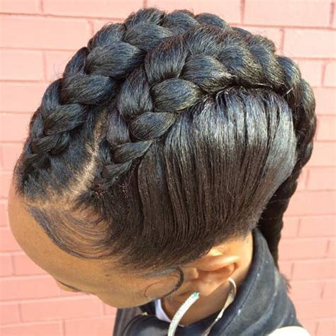 one braid hairstyles 1 goddess braid hairstyles eye catching goddess braids