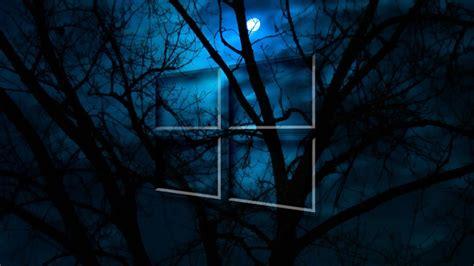 wallpaper hd 1920x1080 windows 10 kostenloses windows 10 hd moon night wallpaper f 252 r desktop