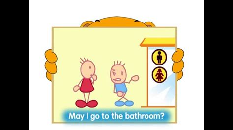 how to go the bathroom super teddy s5e3 daily english may i go to the bathroom