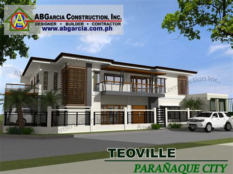 house designed ab garcia construction inc new house design
