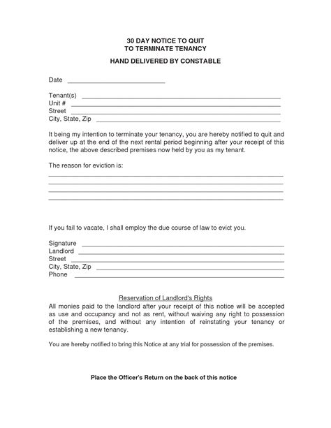 30 day eviction notice template how to write a 30 day eviction notice in oregon eviction