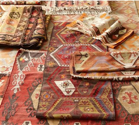 rugs at pottery barn textile spotlight kilim centsational
