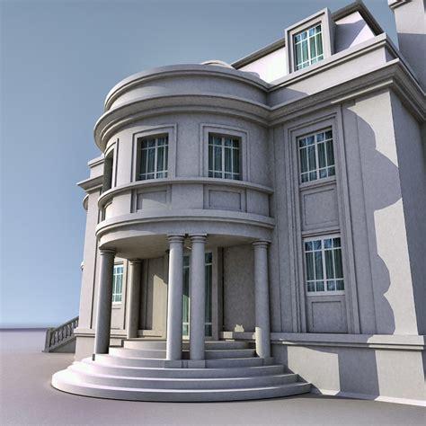 3d house building 3d max house building villa