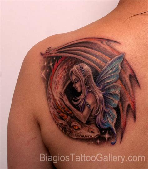dragon fairy tattoo designs biagio s gallery tattoos
