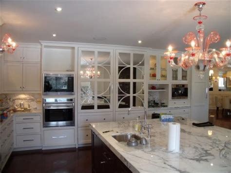 mirrored kitchen cabinets gallery category kitchens image custom refrigerator
