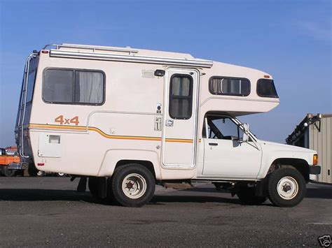 toyota motorhome 4x4 mini motorhome here is one of those rare 4 215 4 toyota