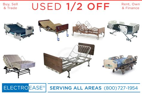 used bariatric heavy duty wide electric hospital beds