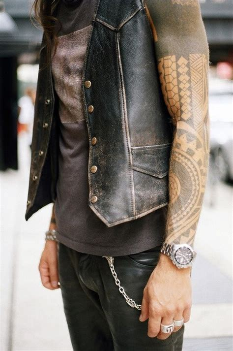 Vest By Mauri 3 17 best sleeveless leather vest images on