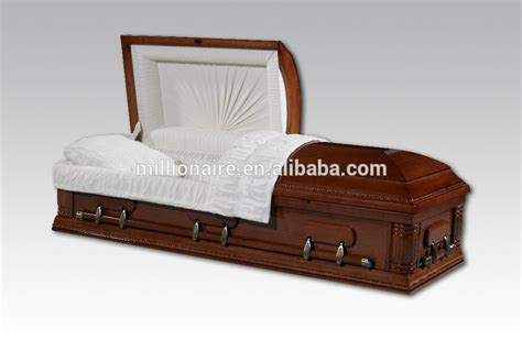half couch casket best price solid wood half couch casket nantong
