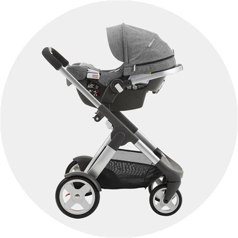 Baby Stoller stokke pipa infant car seat by nuna black black