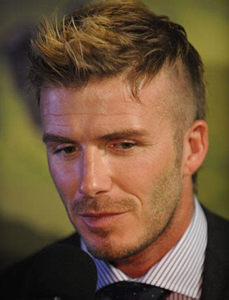 david beckham hairstyles spiky messy mohican david beckham s most regrettable hairstyles stylecaster