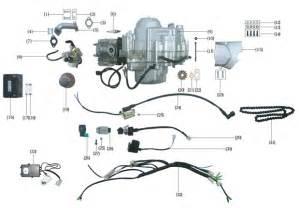 chinese 110cc atv engine diagram chinese get free image