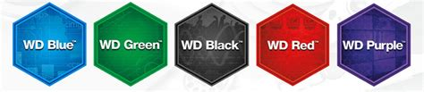western digital color codes wd wants you to identify their drives by colour