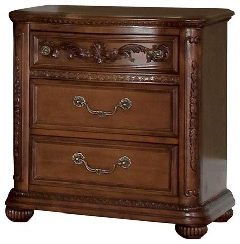 3 drawer nightstand cherry lea jessica mcclintock cherry 3 drawer nightstand in