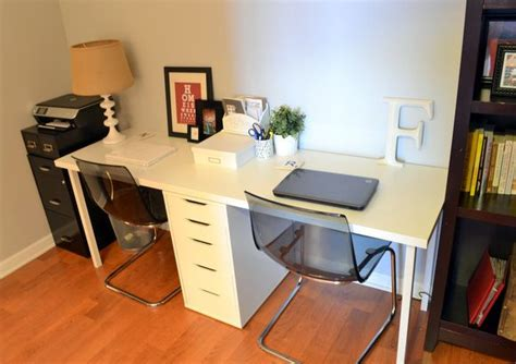 Ikea Study Desks by Casey S Apartment One Month In Study Areas Tabletop