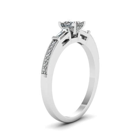 low profile engagement rings fascinating diamonds