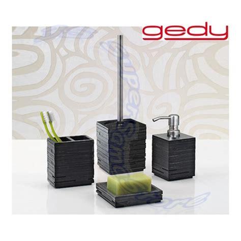 ebay accessori bagno 3s set 4 accessori bagno gedy quadrotto squadrati ebay