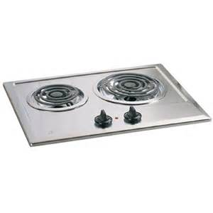 Lowes Cooktops Electric Shop Ge Electric Cooktop Stainless Steel Common 21 In