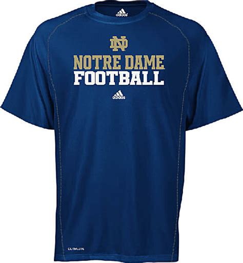 notre dame fighting climalite official football