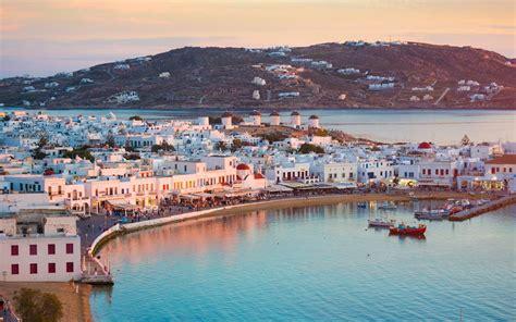 celebrities love traveling  mykonos travel leisure