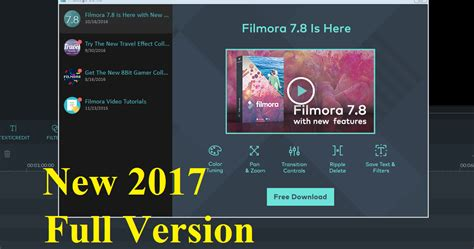 free download full version of filmora how to download wondershare filmora 7 8 0 for free full