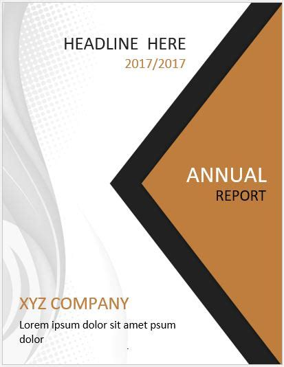 20 Report Cover Page Templates For Ms Word Word Excel Templates Microsoft Word Cover Page Templates