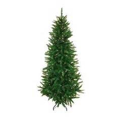 ponderosa needle pine artificial christmas tree slim trees on 16 pins