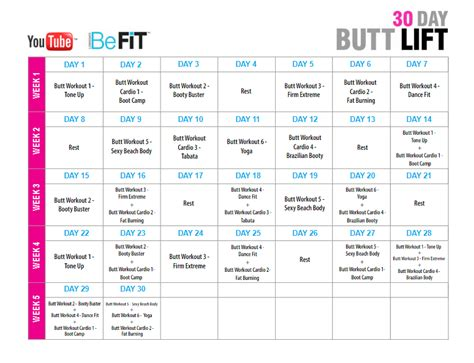 30 day buttlift challenge 30 day lift challenge wanna better the
