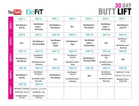 Brazil Lift Calendar 30 Day Lift Challenge Wanna Better The