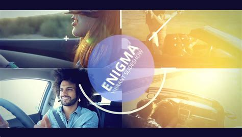 enigma vibrant slideshow after effects template