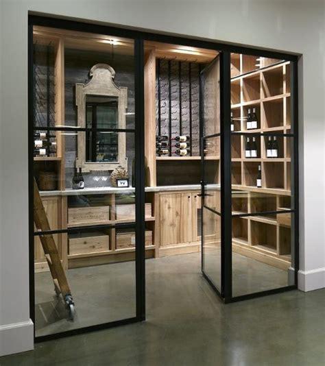 glass door wine storage enclosed wine storage wine racks wine