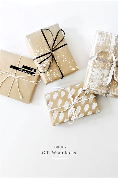 wrap gift four diy gift wrap ideas almost makes perfect