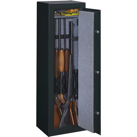 stack on gun 8 gun security safe with combination lock from stack on