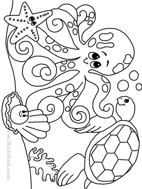 Ocean Coloring Pages To Download And Print For Free Coloring Pages For 6 Year Olds