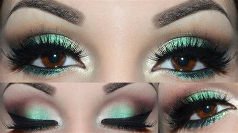 how to apply emerald green eyeshadow