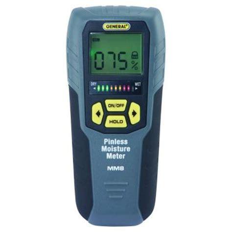 General Tools Professional Digital Pinless Moisture Meter