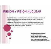 Fusi&243n Y Fisi&243n Nuclear