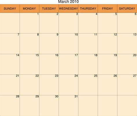 5 day weekly calendar blank new calendar template