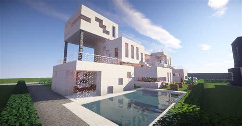 minecraft architecture modernist style house 1 on creative plot on hatventures server