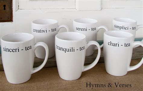 design your own mug dollar tree hospitali tea creating a welcoming fall vignette
