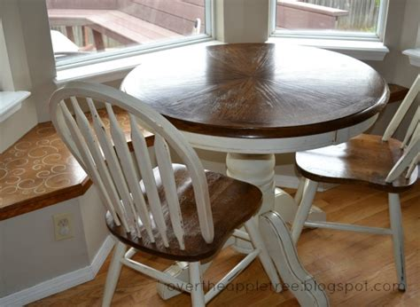 kitchen table makeover the apple tree kitchen table makeover