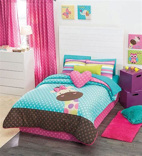 twin comforter sets with matching curtains details about twin full queen girls giraffe comforter set