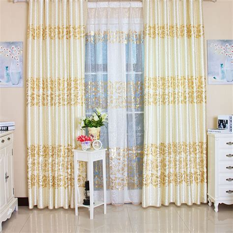 European Style Curtains European Style Living Room Blackout Curtain