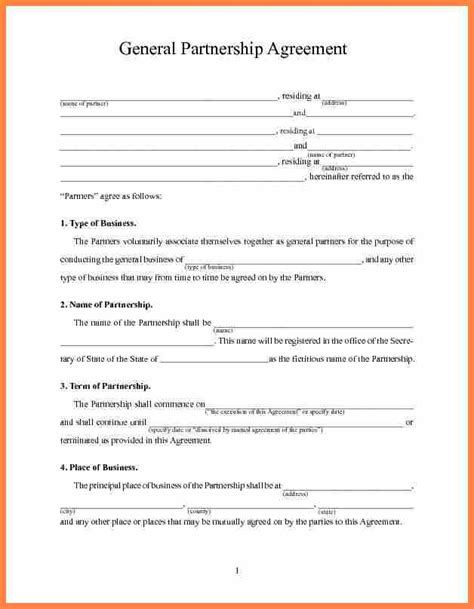 profit agreement template 3 non profit partnership agreement template purchase