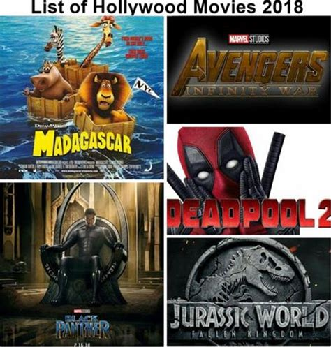 hollywood news movie release list new upcoming hollywood english movies list of 2018 with