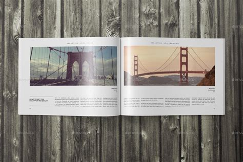 indesign layout landscape indesign landscape photo book template by sacvand