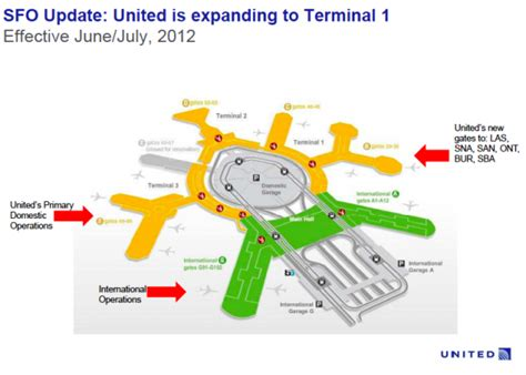 san jose airport terminal map united airlines united moving flights to terminal 1 at sfo chris mcginnis