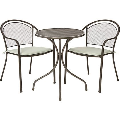 Homebase Bistro Table And Chairs Patio Chairs Homebase Inspiration Pixelmari