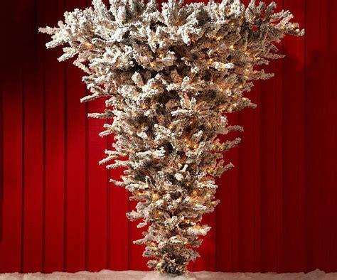 upside christmas tree roselawnlutheran